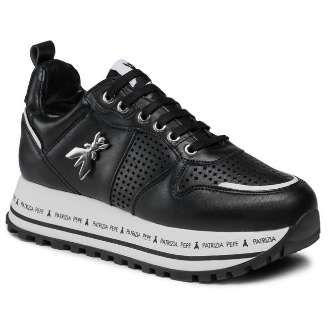Sneakersy PATRIZIA PEPE - PPJ65.01 Nero