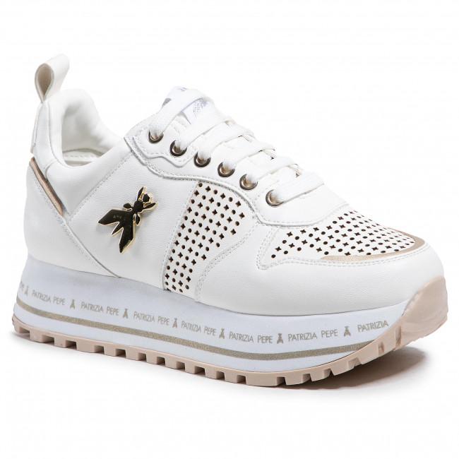 Sneakersy PATRIZIA PEPE - PPJ65.06 Bianco
