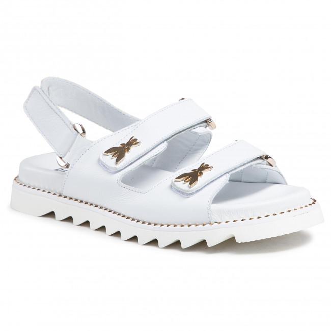Sandále PATRIZIA PEPE - PPJ76.06 Bianco Vitello