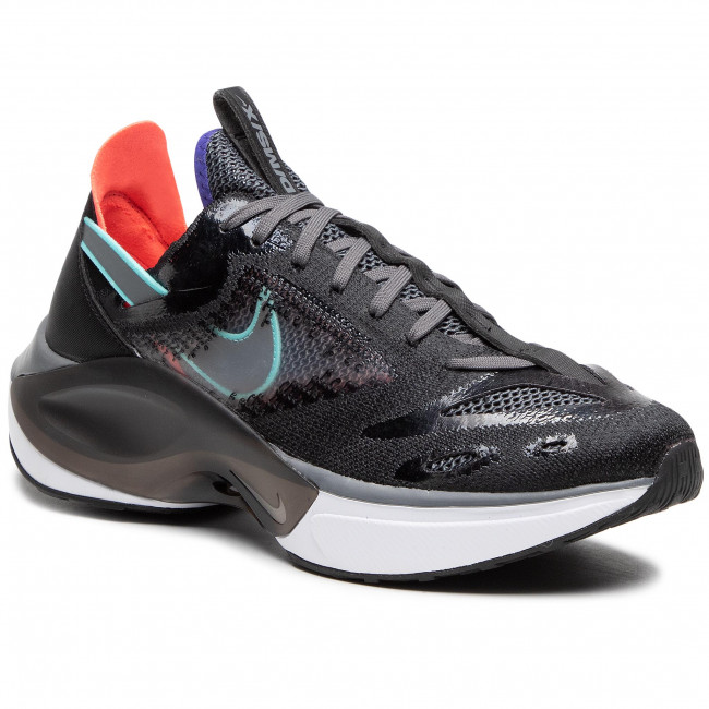 Topánky NIKE - N110 D/Ms/X AT5405 004 Black/Dark Grey/Red Orbit