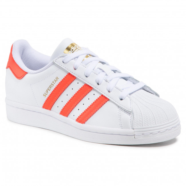 Topánky adidas - Superstar W FX5963 Ftwwht/Solred/Scarle