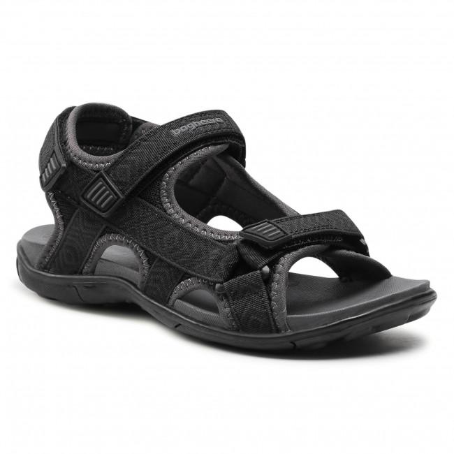 Sandále BAGHEERA - Onyx 86489-2 C0102 Black/Dark Grey