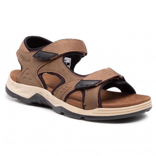 Sandále HI-TEC - Lucibel AVS-SS20-HT-01-Q2 Dark Brown/Black