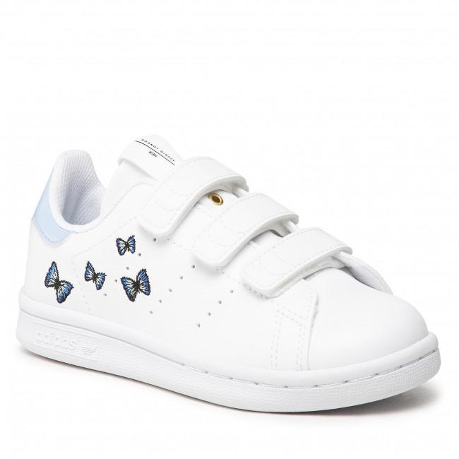 Topánky adidas - Stan Smith Cf C H06561  Ftwwht/Ftwwht/Ftwwht