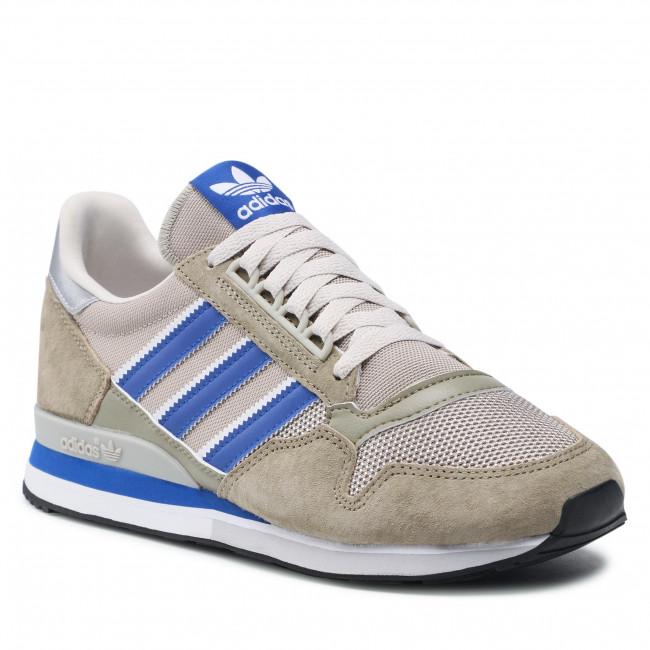 Topánky adidas - Zx 500 H02117 Orbgrn/Royblu/Ftwwht