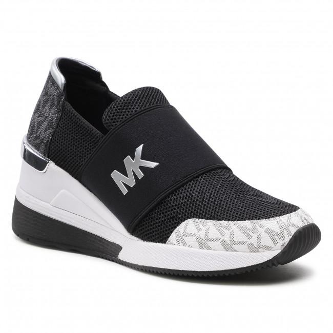 Sneakersy MICHAEL MICHAEL KORS - Felix Trainer 43S1FXFS1D Blk/Wht