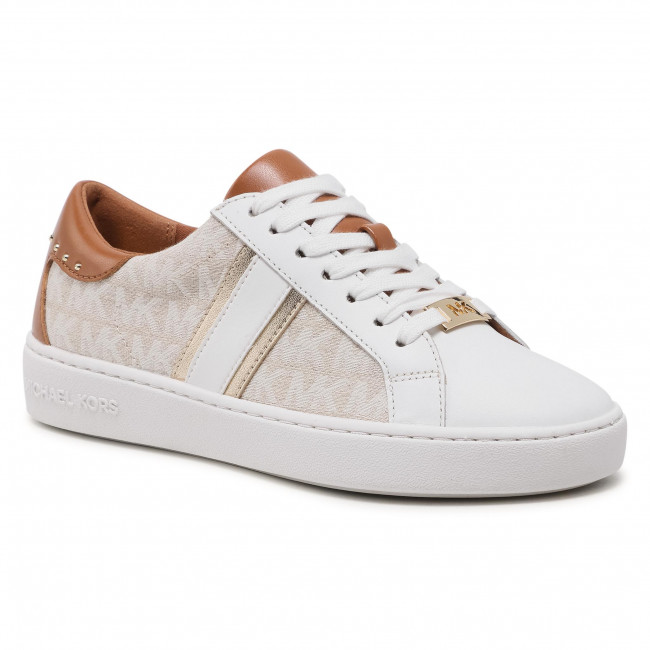 Sneakersy MICHAEL MICHAEL KORS - Keaton Stripe Sneaker 43S1KTFS1Y Natural/Mlt