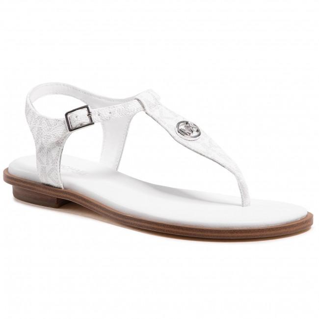 Sandále MICHAEL MICHAEL KORS - Mallory Thong 40S1MAFA1B Bright Wht