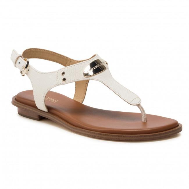 Sandále MICHAEL MICHAEL KORS - Plate Thong 40U2MKFA1L Lt Cream