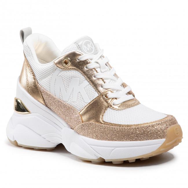 Sneakersy MICHAEL MICHAEL KORS - Mickey Trainer 43R1MKFS3D  Opt/Gold