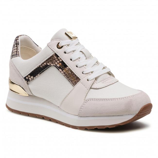 Sneakersy MICHAEL MICHAEL KORS - Billie Trainer 43S1BIFS3D Cream