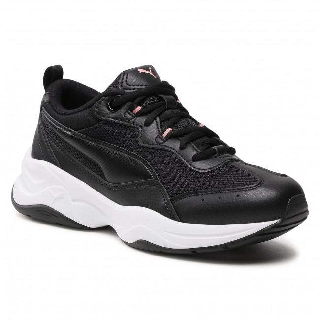 Sneakersy PUMA - Cilia Jr 370525 01 Black/Silver/Bridal Rose