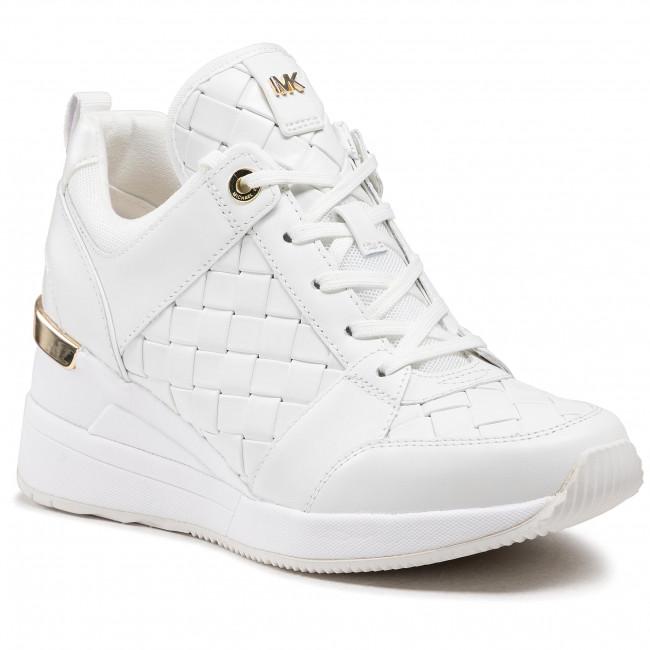 Sneakersy MICHAEL MICHAEL KORS - Georgie Trainer 43S1GEFS1L Optic White