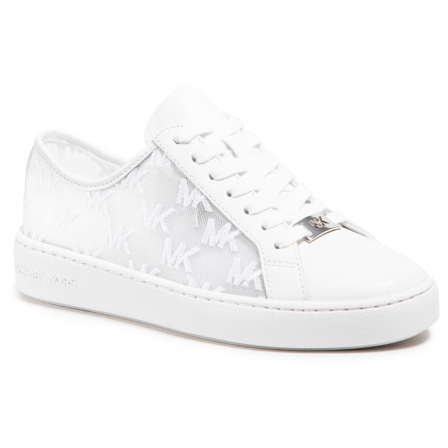 Sneakersy MICHAEL MICHAEL KORS - Olivia Lace Up 43S1OLFS1D Optic White