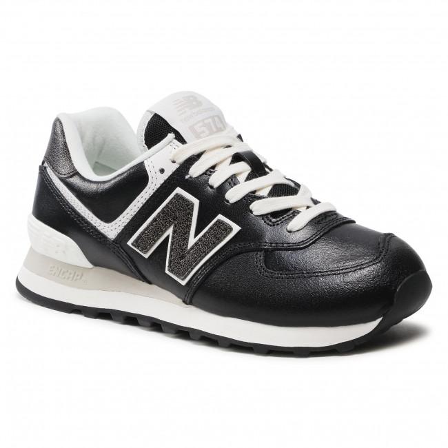 Sneakersy NEW BALANCE - WL574PL2 Čierna