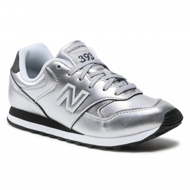 Sneakersy NEW BALANCE - WL393EA1 Strieborná