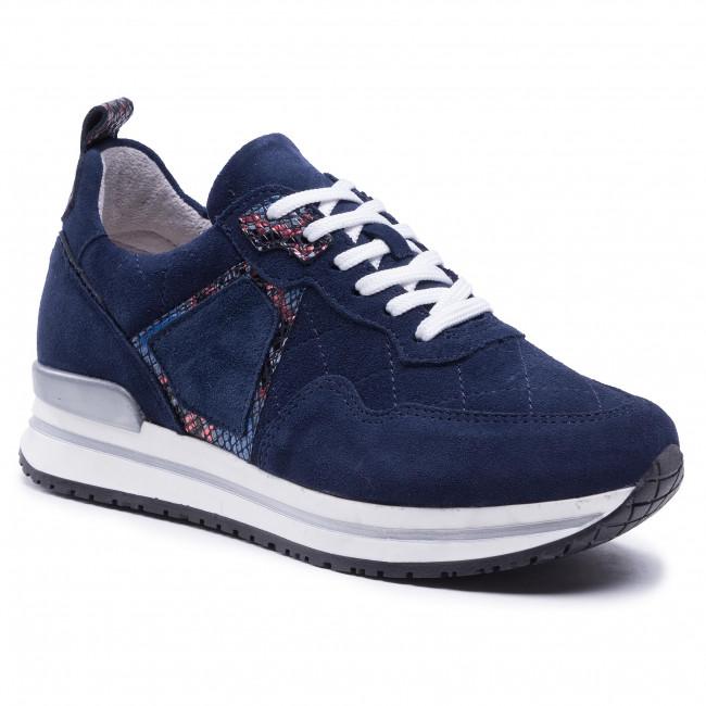 Sneakersy SIMEN - 4342A Granat