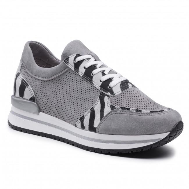 Sneakersy SIMEN - 4343A Sivá