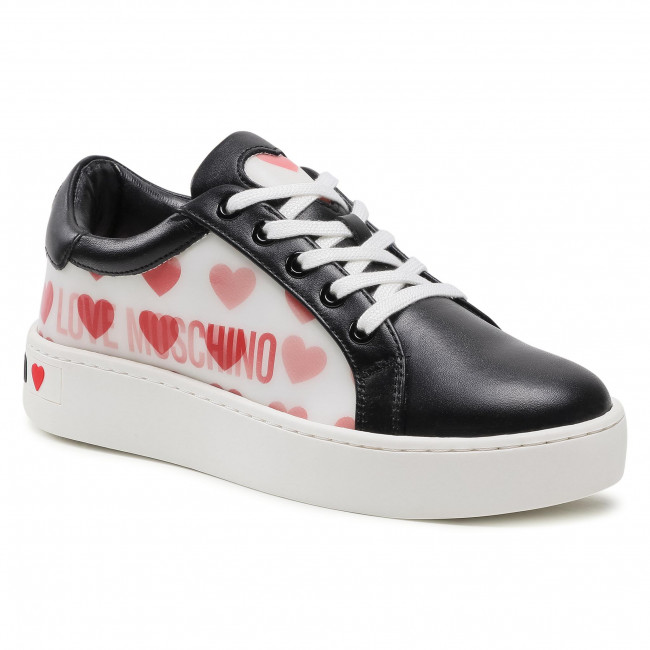 Sneakersy LOVE MOSCHINO - JA15023G1BIA500A  Nero