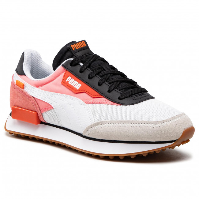 Sneakersy PUMA - Future Rider New Tones 373386 03 Puma White/Salmon Rose