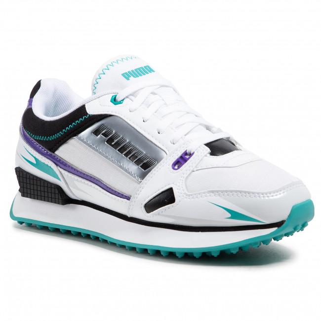 Sneakersy PUMA - Mile Rider Sunny Getaway Wns 373443 04 Puma White/Gray Violet