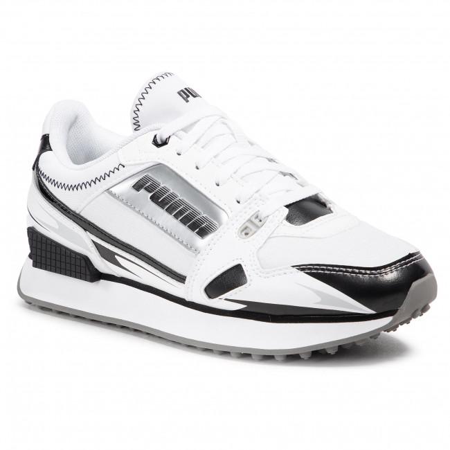 Sneakersy PUMA - Mile Rider Sunny Gataway Wns 373443 05 Puma White/Puma Black