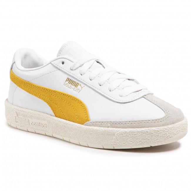 Sneakersy PUMA - Oslo-City Prm 374800 01 P White/S Lemon/V Gray