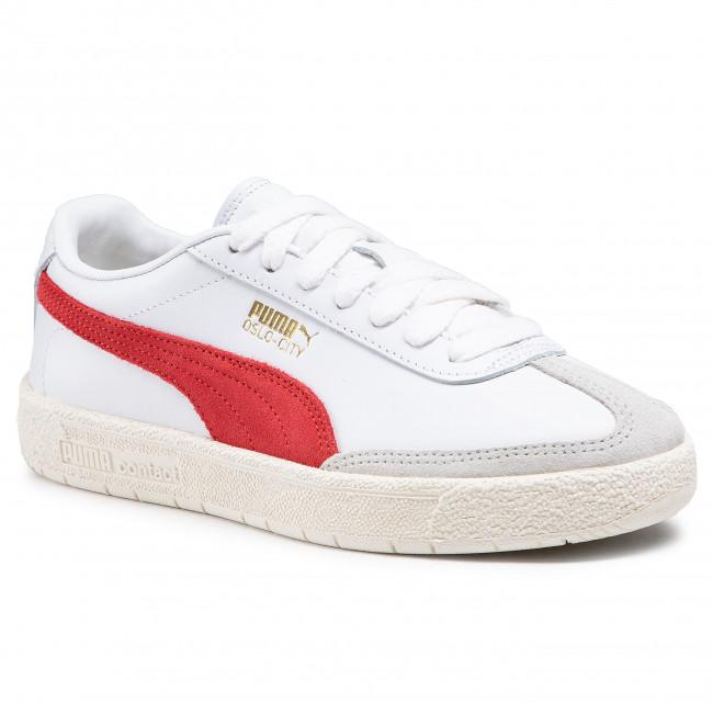 Sneakersy PUMA - Oslo-City Prm 374800 02 White/Whisper White/Gray