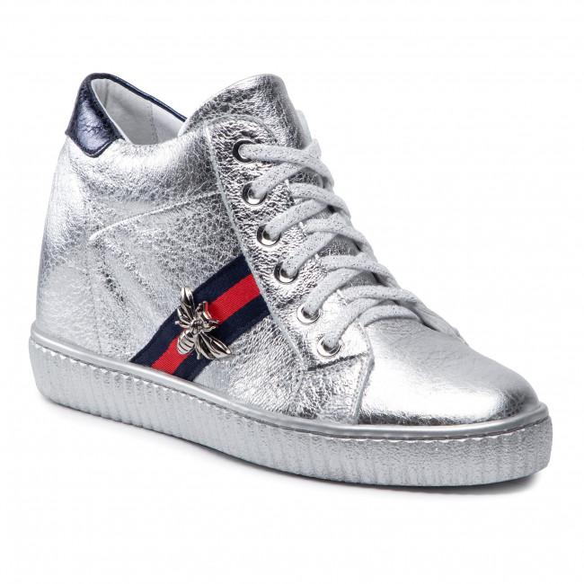 Sneakersy R.POLAŃSKI - 959 Srebrny Lico