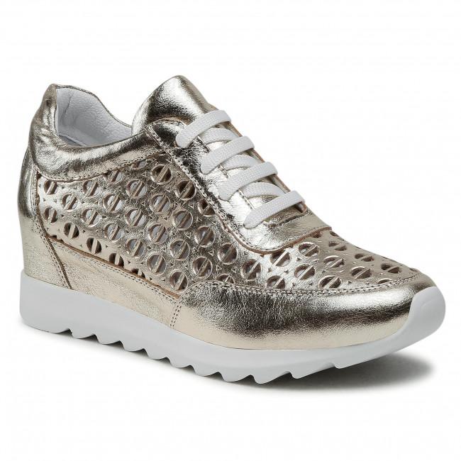 Sneakersy BADURA - 6545-69 Złoty 434