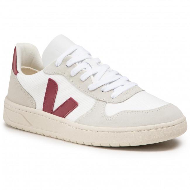 Sneakersy VEJA - V-10 B-Mesh VX011314B White Natural Marsala