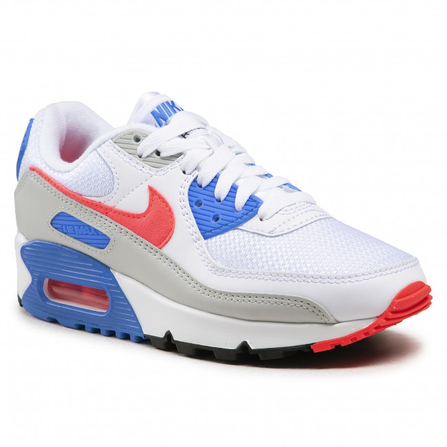 Topánky NIKE - Air Max III DA8856 100 White/Hot Coral/Blue Crystal