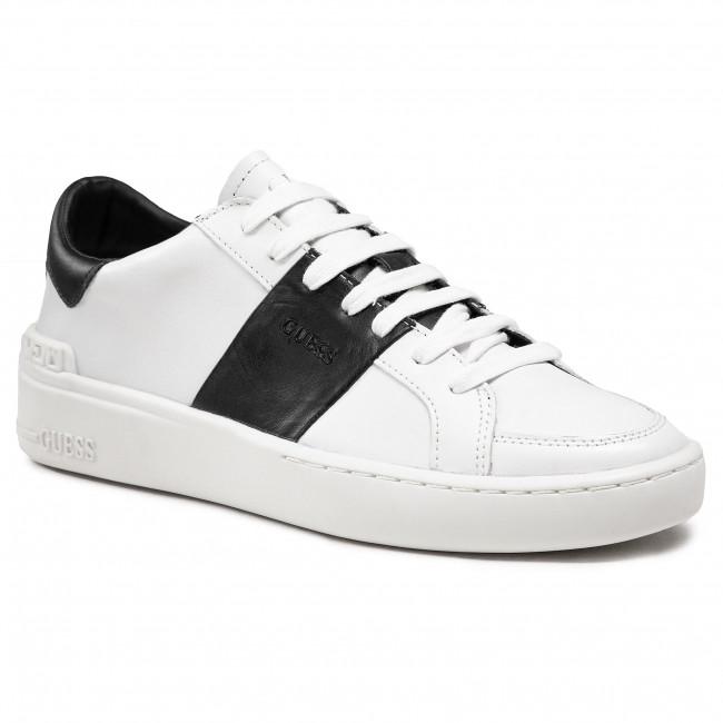 Sneakersy GUESS - Verone Stripe Low FM5VES LEA12 WHBLA