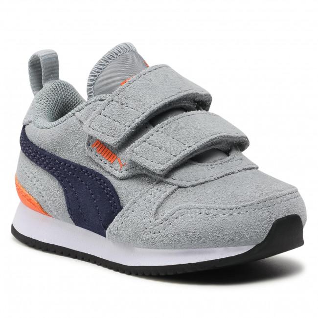 Sneakersy PUMA - R78 Sd V Inf 368591 03 Quarry/Peacoat/Dragon Fire