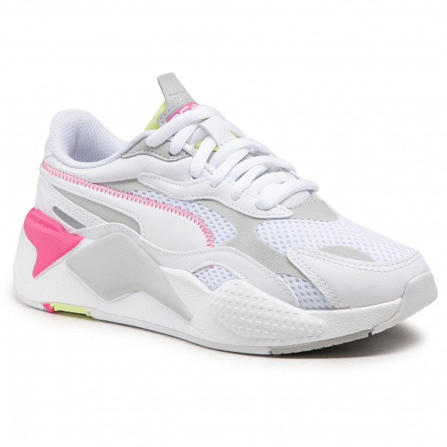 Sneakersy PUMA - Rs-X³ Millenium 373236 04 White/Gr Violet/Sharp Green