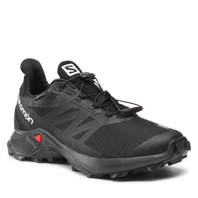Topánky SALOMON - Supercross 3 Gtx GORE-TEX 414535 29 W0 Black/Black/Black
