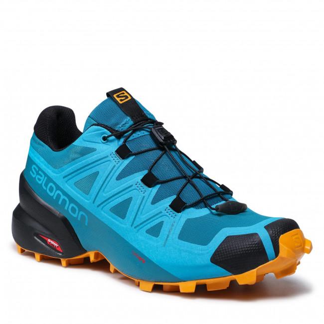 Topánky SALOMON - Speedcross 5 414620 26 V0 Crystal Teal/Barrier Reef/Golden Oak