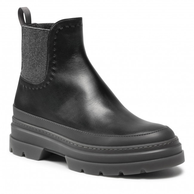 Kotníková obuv s elastickým prvkom MAX MARA - Atwoopv 47961517600 Nero 006/006