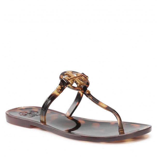 Žabky TORY BURCH - Mini Miller Flat Thong 76391 Tortoise 239