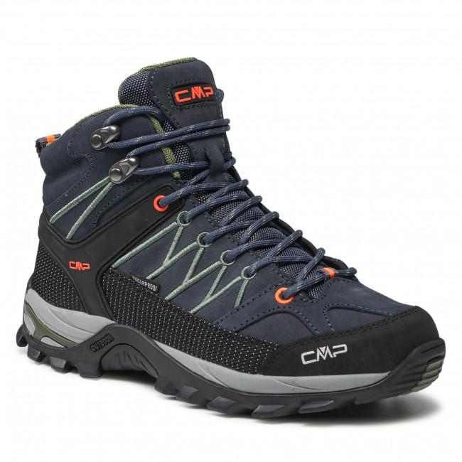 Trekingová obuv CMP - Rigel Mid Trekking Shoe Wp 3Q12947  Antracite/Torba 51UG