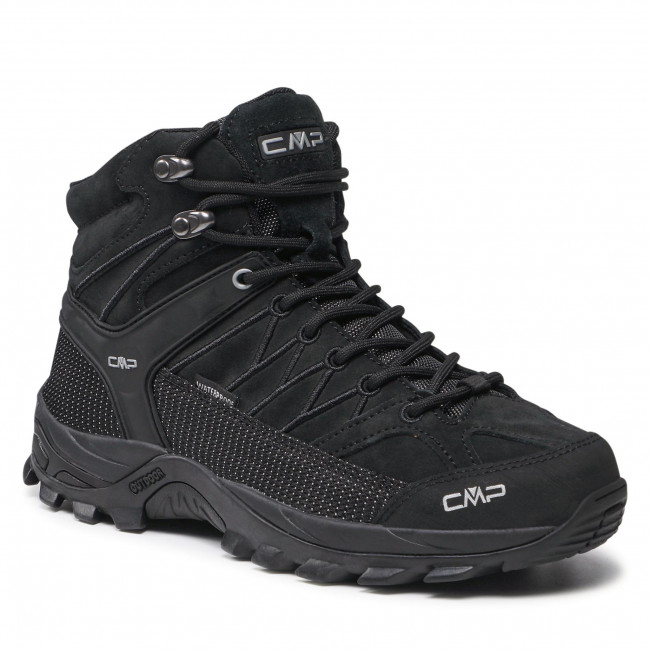 Trekingová obuv CMP - Rigel Mid Trekking Shoe Wp 3Q12947  Nero/Nero 72YF