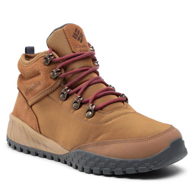 Trekingová obuv COLUMBIA - Fairbanks Mid BM7744 Elk/Graphite 286