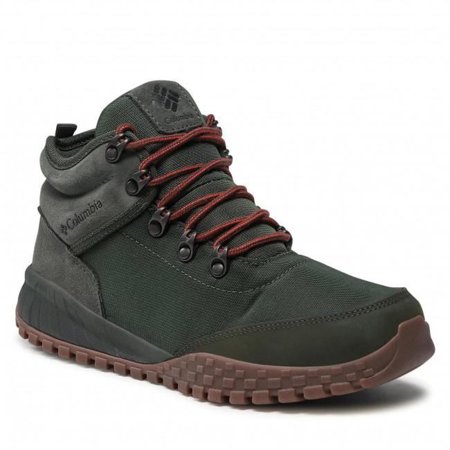 Trekingová obuv COLUMBIA - Fairbanks Mid BM7744 Gravel/Dark Moss