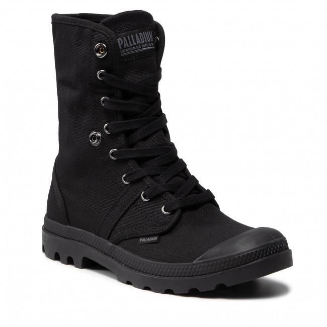 Outdoorová obuv PALLADIUM - Us Baggy W H 02478-001-M Black/Black