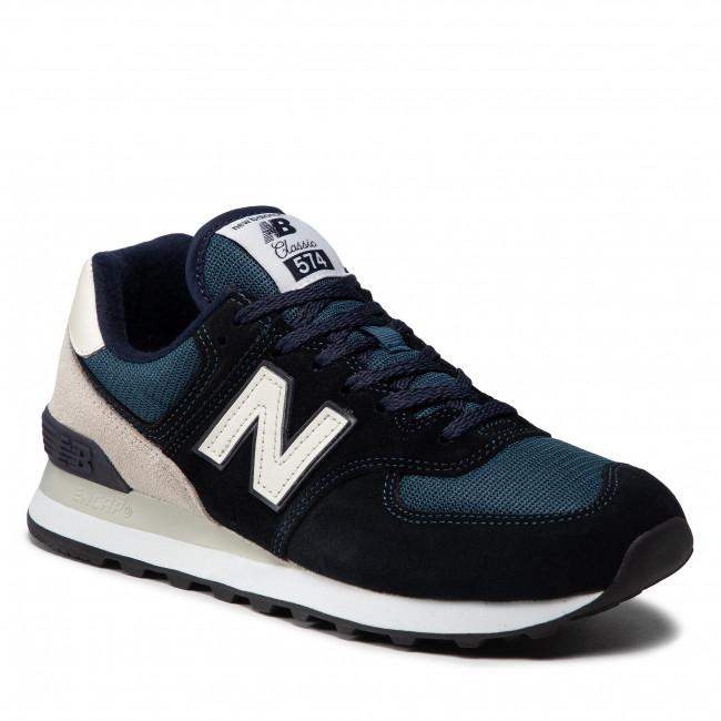 Sneakersy NEW BALANCE - ML574BD2 Tmavo modrá