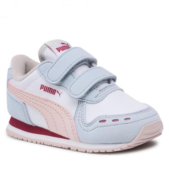Sneakersy PUMA - Cabana Racer Sl V Inf 351980 94 Puma White/Lotus
