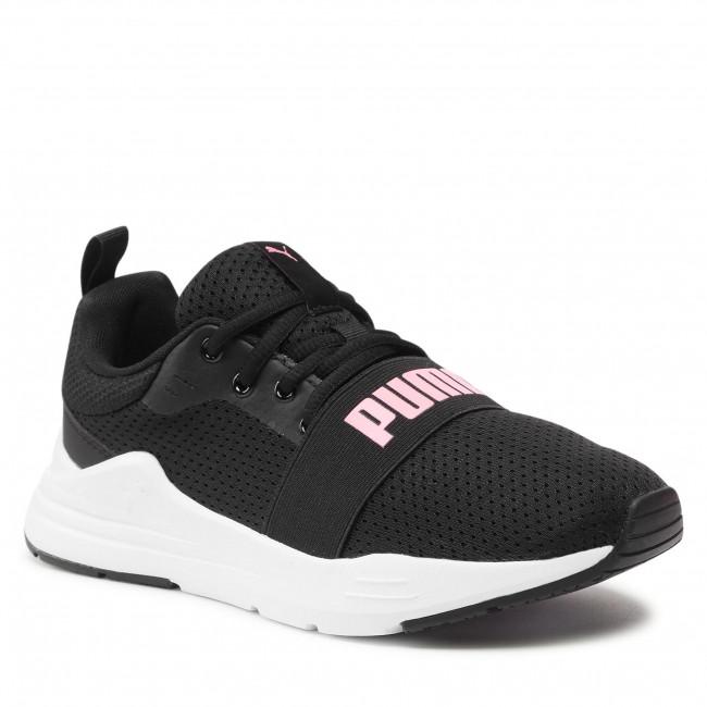 Sneakersy PUMA - Wired Run Jr 374214 11 Puma Black/Peony