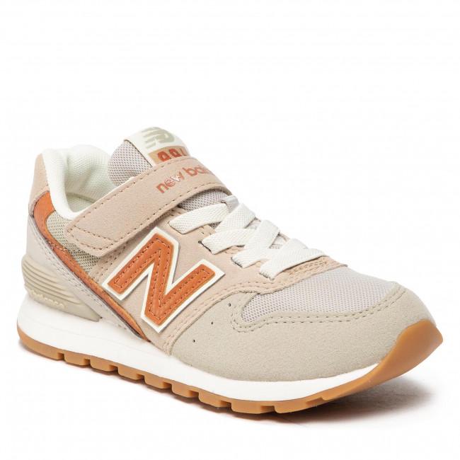 Sneakersy NEW BALANCE - YV996OG3  Béžová