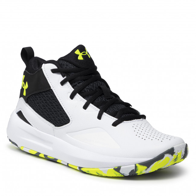 Topánky UNDER ARMOUR - Ua Lockdown 5 3023949102-102 Wht/Blk