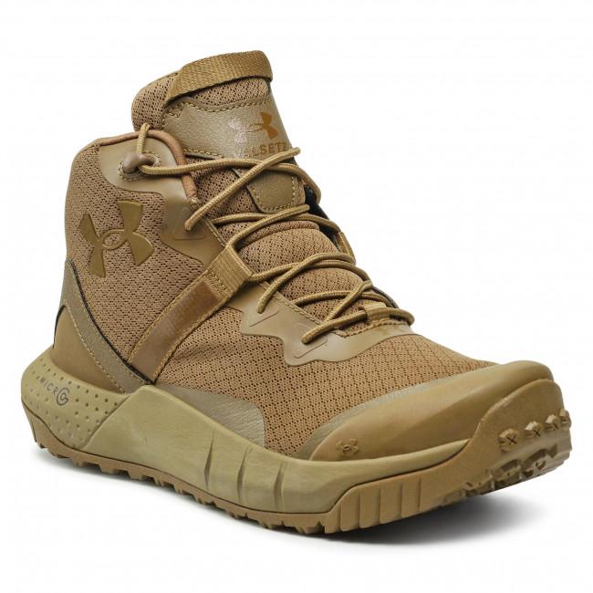 Trekingová obuv UNDER ARMOUR - Ua Micro G Valsetz Mid 3023741-200 Brn/Brun